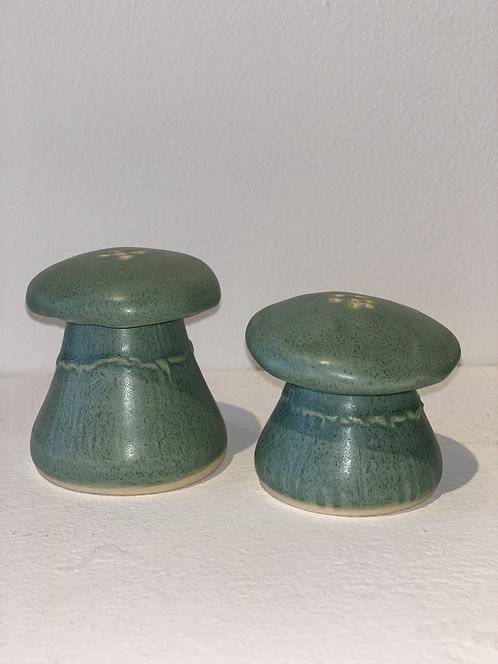 Mushroom Salt and Pepper,  2""