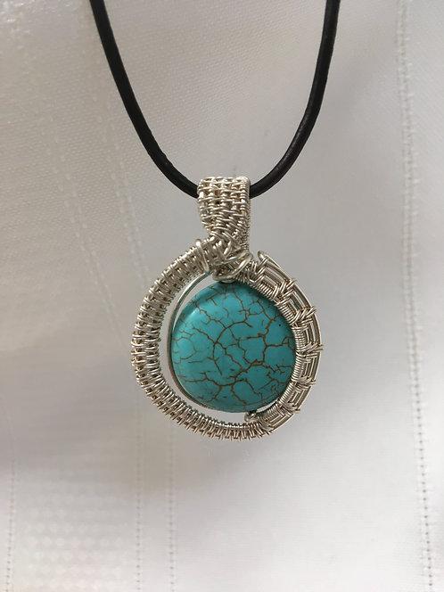Nancy Finn, Turquoise Pendant