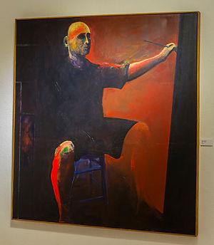 Peter Onstad,  Self Portrait