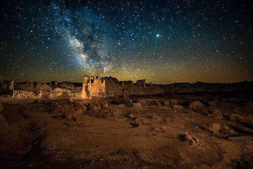 Volkhard Sturzbecher, Alien Throne - Milky Way, New Mexico