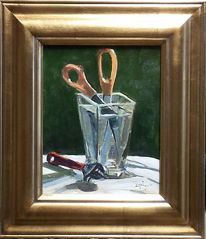 Tom Zephyrs, Scissors Still Life