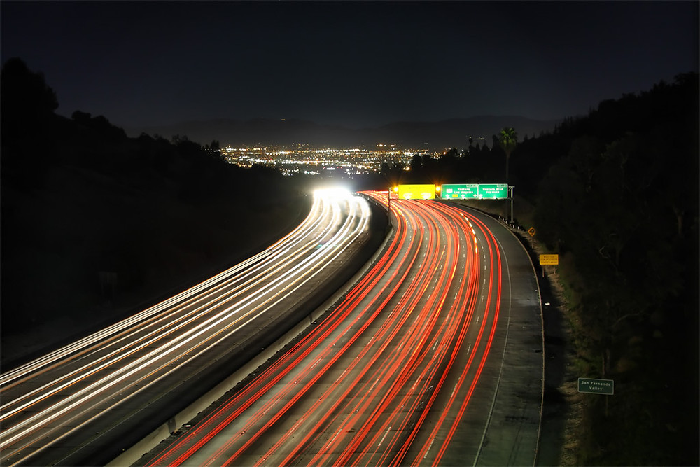 405 Freeway Overlooking the San Fernando Valley