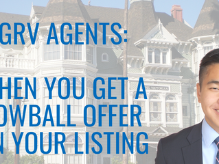 WHEN YOU GET A LOWBALL OFFER ON YOUR LISTING | GRV AGENTS | JOIN GET REAL VALLEY