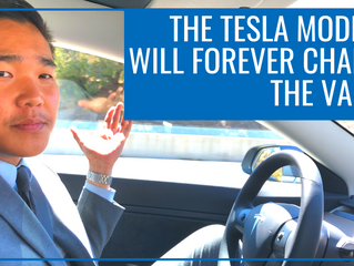 THE TESLA MODEL 3 IS ONE OF THE MOST PROFOUND THINGS TO HAPPEN TO THE VALLEY