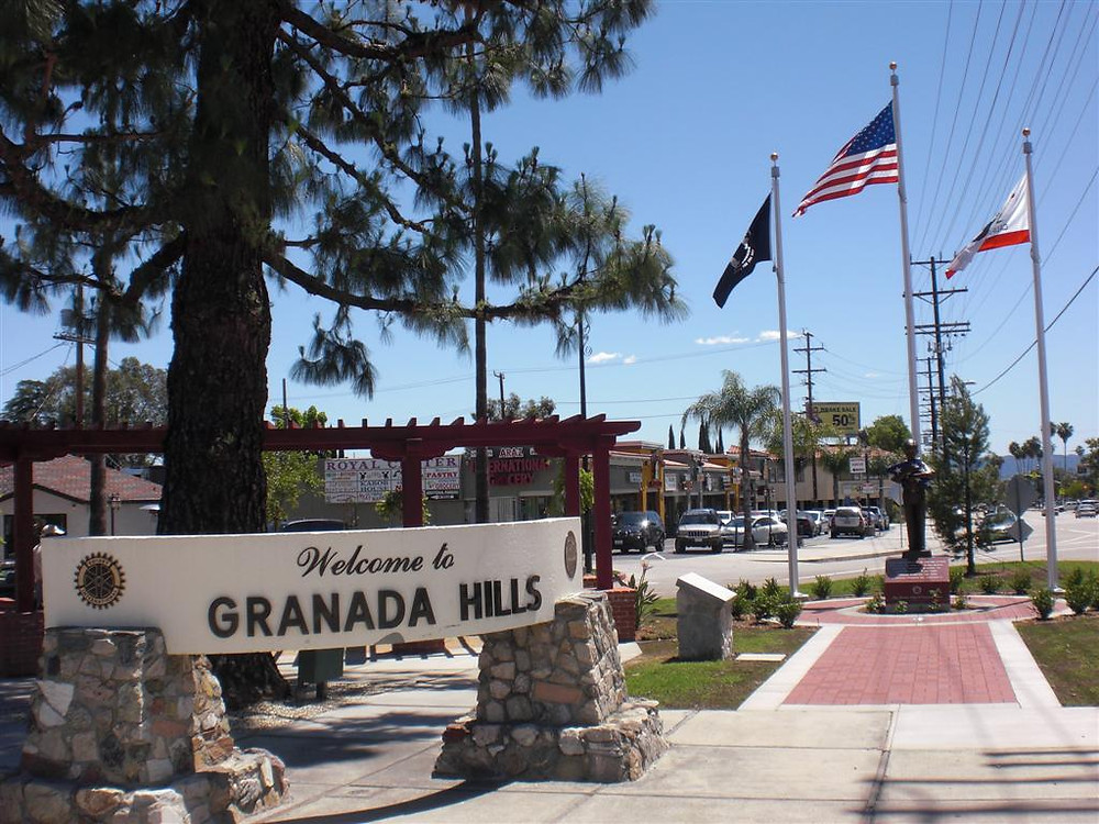 Community feeling in Granada Hills