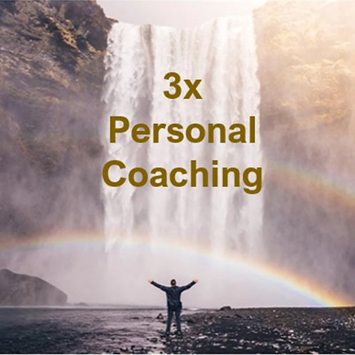 3 Personal Coaching Sessions