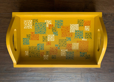 Dotpainted Tray