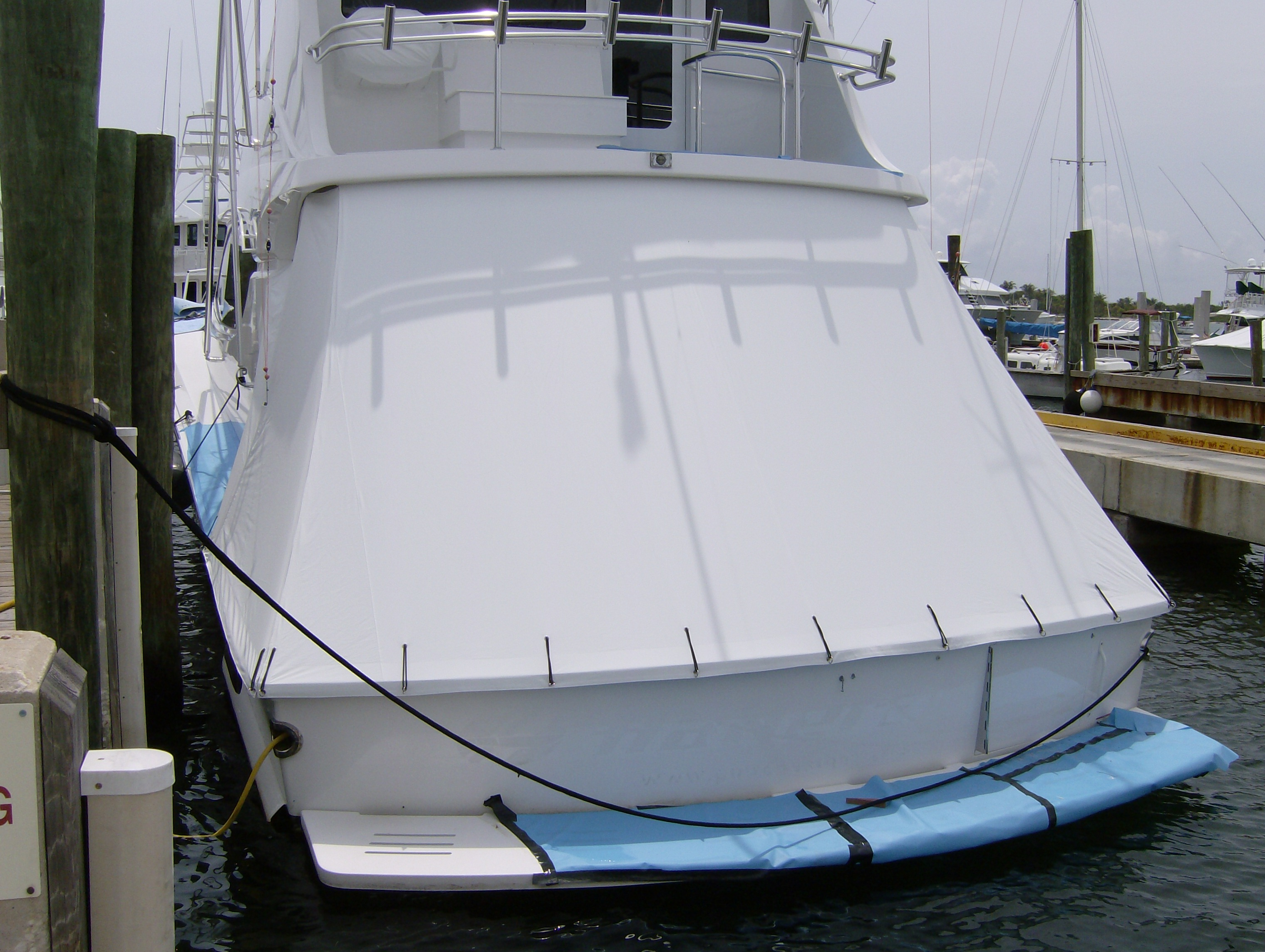 Canvas for Powerboats