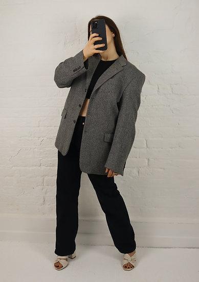 Vintage Cashmere + Wool Blazer