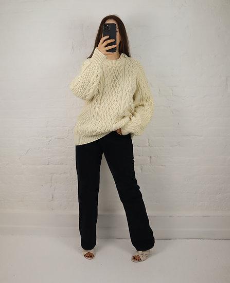 Vintage 90s Aran Knit