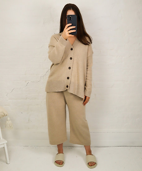 Cashmere + Wool Cardigan