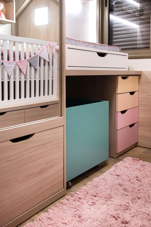 trocador quarto de bebê
