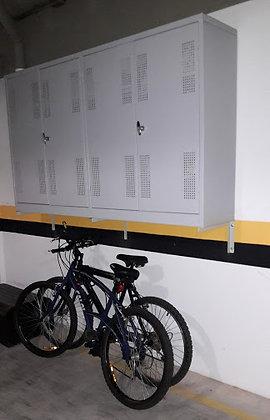 Armário suspenso para garagem