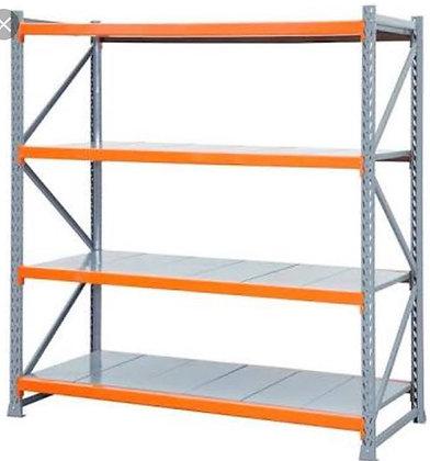 Porta pallets com plano em aço