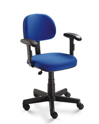 Cadeira secretária com braços