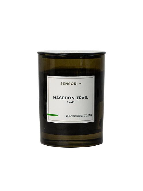 空気のデトックスソイキャンドル MACEDON TRAIL