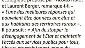 Réaction de Nicolas Roland au modèle de société choisi par Emmanuel Macron