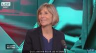 Marielle de Sarnez, invitée de l'émission « Ça vous regarde » sur LCP