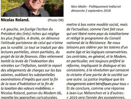 Interview de Nicolas Roland sur les élections à venir