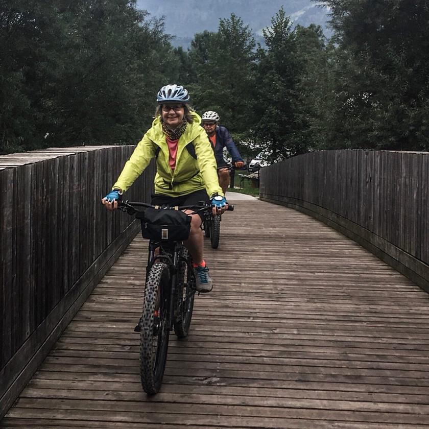 Slovenia cycling paths