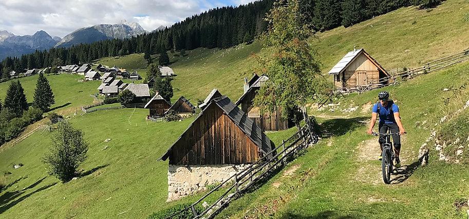 biking holidays in Slovenia