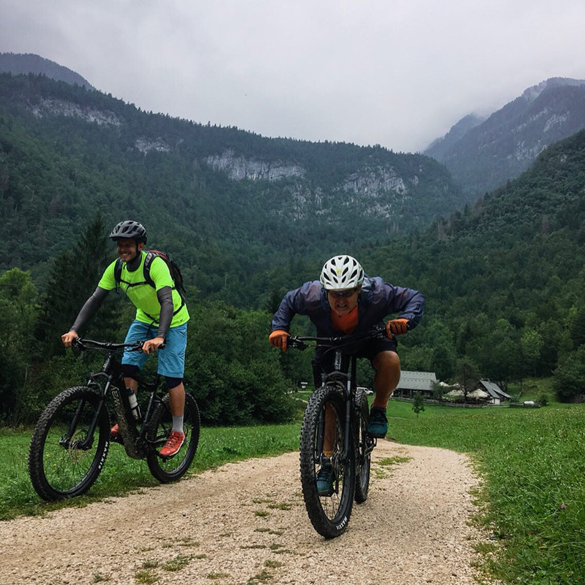 Bohinj mountain biking