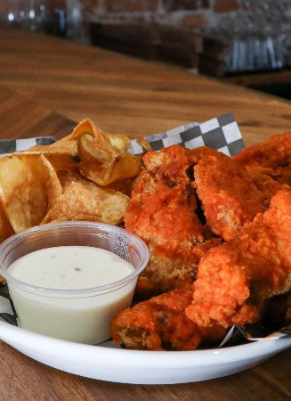 Wings and chips - Taphouse Orangeville