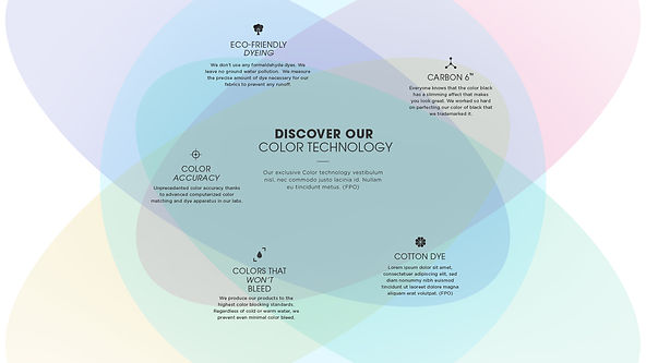 Color Technology Infographics