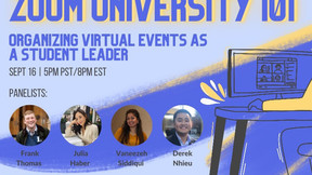 4 Tips for Student Leaders Organizing Virtual Events