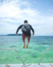 Schoolies Unearthed Borneo Water Jump.jp