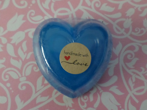 Handmade All Natural Lavender Glycerin Heart Large Soap
