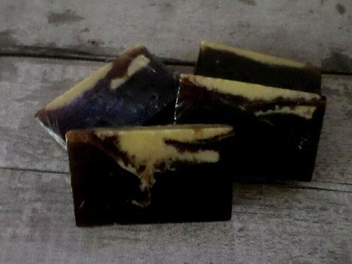 Large Handcrafted Banana And Vanilla Natural Soap Slice 85g