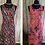 Thumbnail: Stunning Two In One Reversible Crinkle Chiffon Dress Size 14