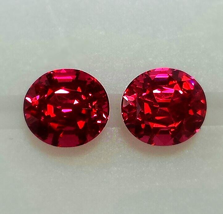 red spinels gemstones