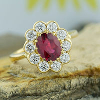 ruby, red, corundum