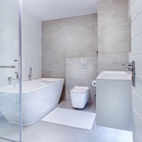 Modern bathroom update