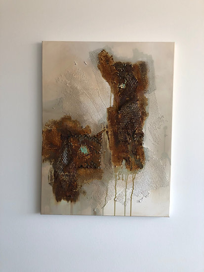 Acrylgemälde - RUSTY ELEMENTS
