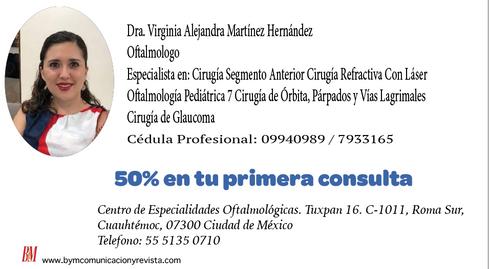 Dra. Virginia Alejandra/Oftalmologa