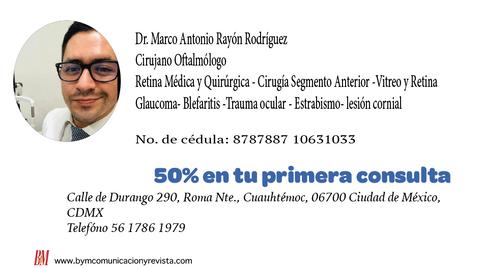 Dr. Marcos Rayon/ oftalmologo