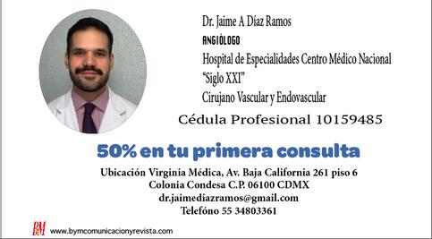 Dr. Jaime A. Díaz Ramos /Angiologo