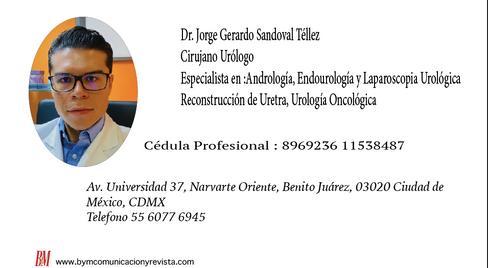 Dr. Jorge Gerardo/Urólogo