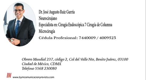 Dr. José Augusto Ruiz