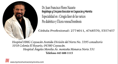 Dr Juan Francisco Flores Nazario Angiologo