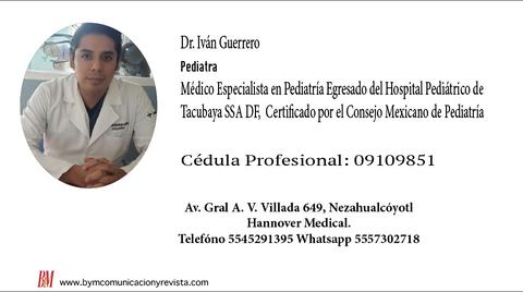 Dr.Ivan Guerrero /Pediatra