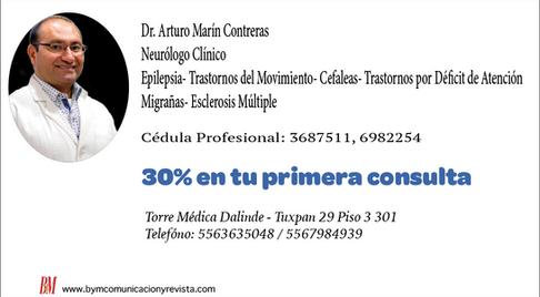 Dr. Arturo Marin /Neurologo Clínico