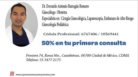 Dr.Everardo Antonio / Ginecologo solicta consulta