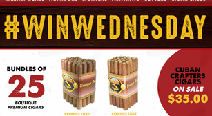 Cuban Crafters Weekly Special: 25 for $35