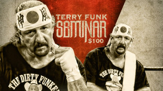 PCW Wrestling Presents Terry Funk: October 6th, 2017