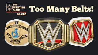 Pro Wrestling Slam! Episode 1 Too Many Belts!
