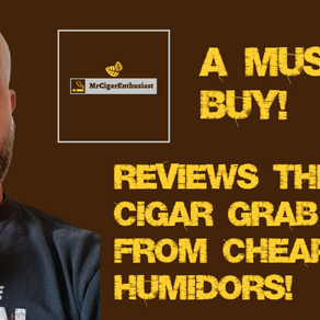 MrCigarEnthusiast Reviews The 7 Cigar Grab Bag From CheapHumidors.com